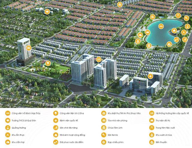 Phối cảnh dự án Anland Nam Cường