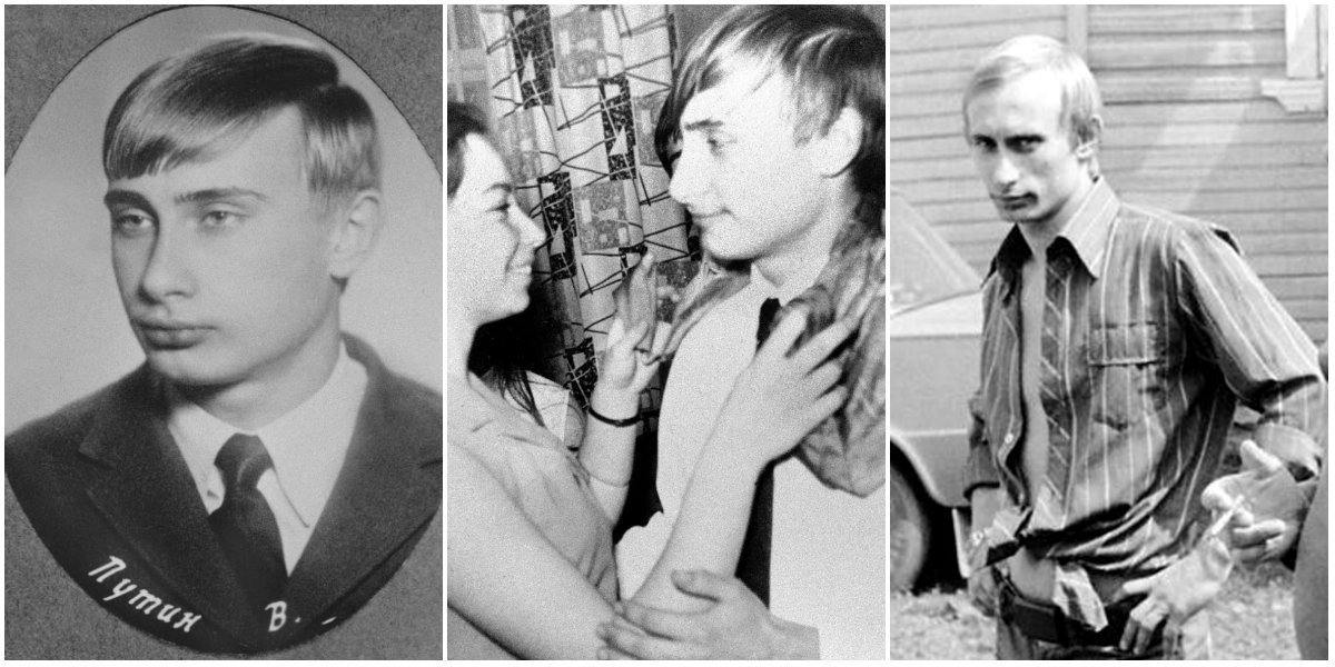 Vladimir Putin Young