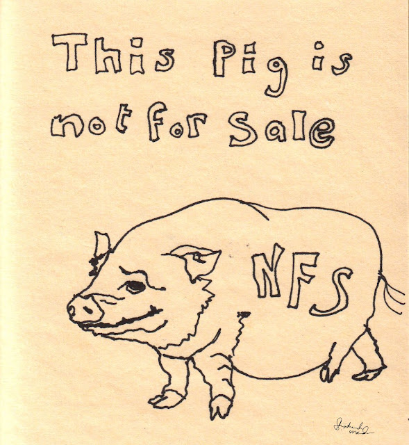 pig not for sale