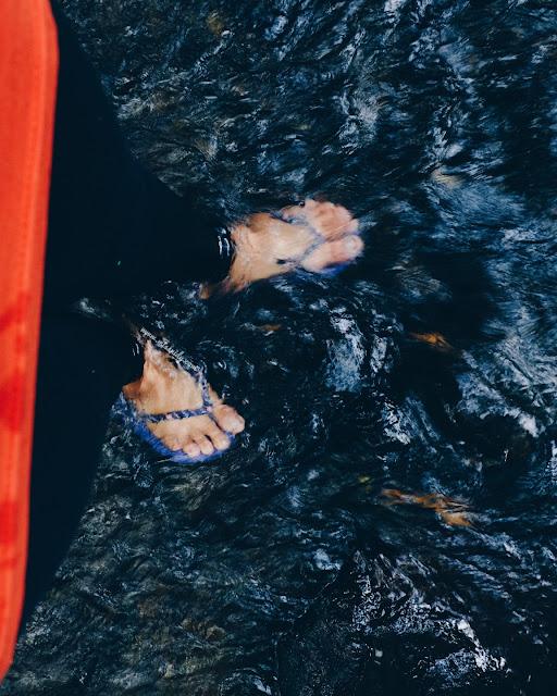 pengalaman susur sungai di desa pancoh sleman