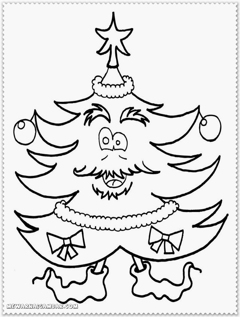 Christmas coloring pages images