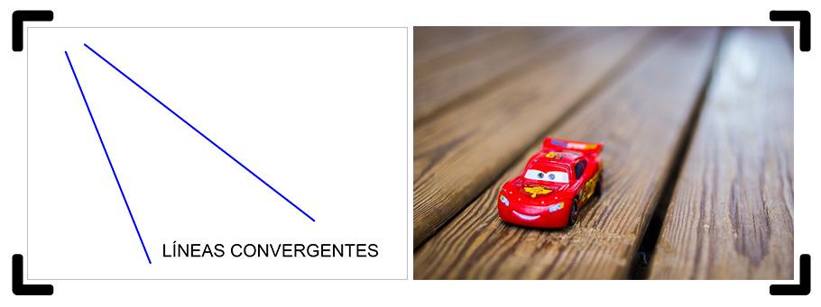 Líneas convergentes