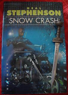 Portada del libro Snow Crash, de Neal Stephenson