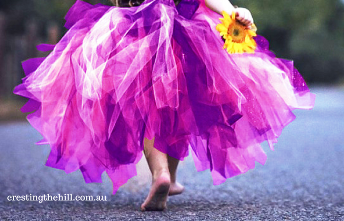 Midlife is turning out to be the best time of life for me - why wait until we're old to wear purple?