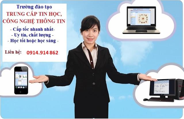 Tuyển sinh liên tục Trung cấp Công nghệ thông tin tại Hà Nội
