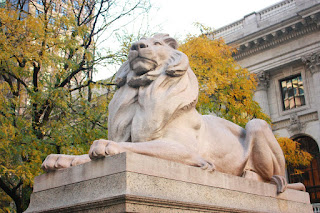 Lion of Library Public of New York