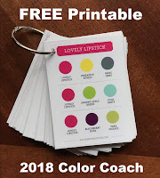 FREE Printable ~ Stampin' Up! 2018 Color Coach ~ Color Combos ~ Color Inspiration