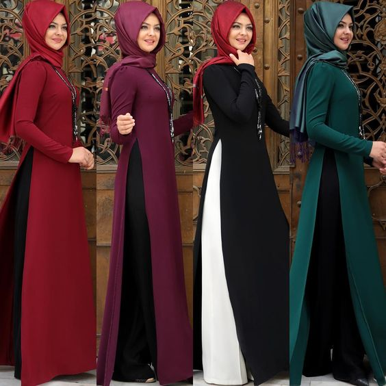 15 Model Baju Wanita Muslim Turki Terbaru 2019 Mesin Jahit