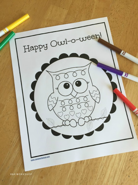 o ween coloring pages - photo #6