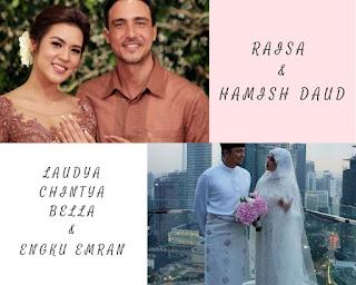 pernikahan raisa, bridestory, pernikahan laudya chintya bella