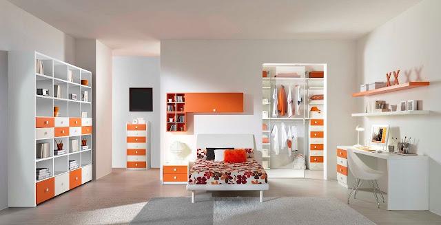 Decoration Chambre Ado Moderne : Idée déco chambre ado fille moderne