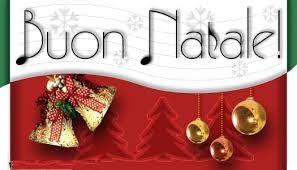 Merry Christmas Greetings Italian