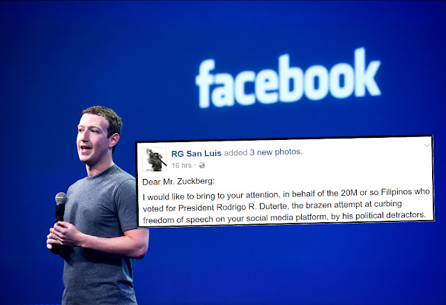 Open letter to Facebook CEO Mark Zuckerberg: Take action on detractors