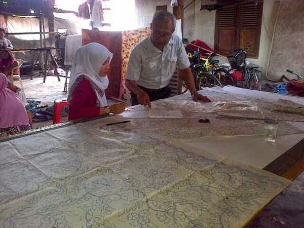 pelatihan batik cap_printing