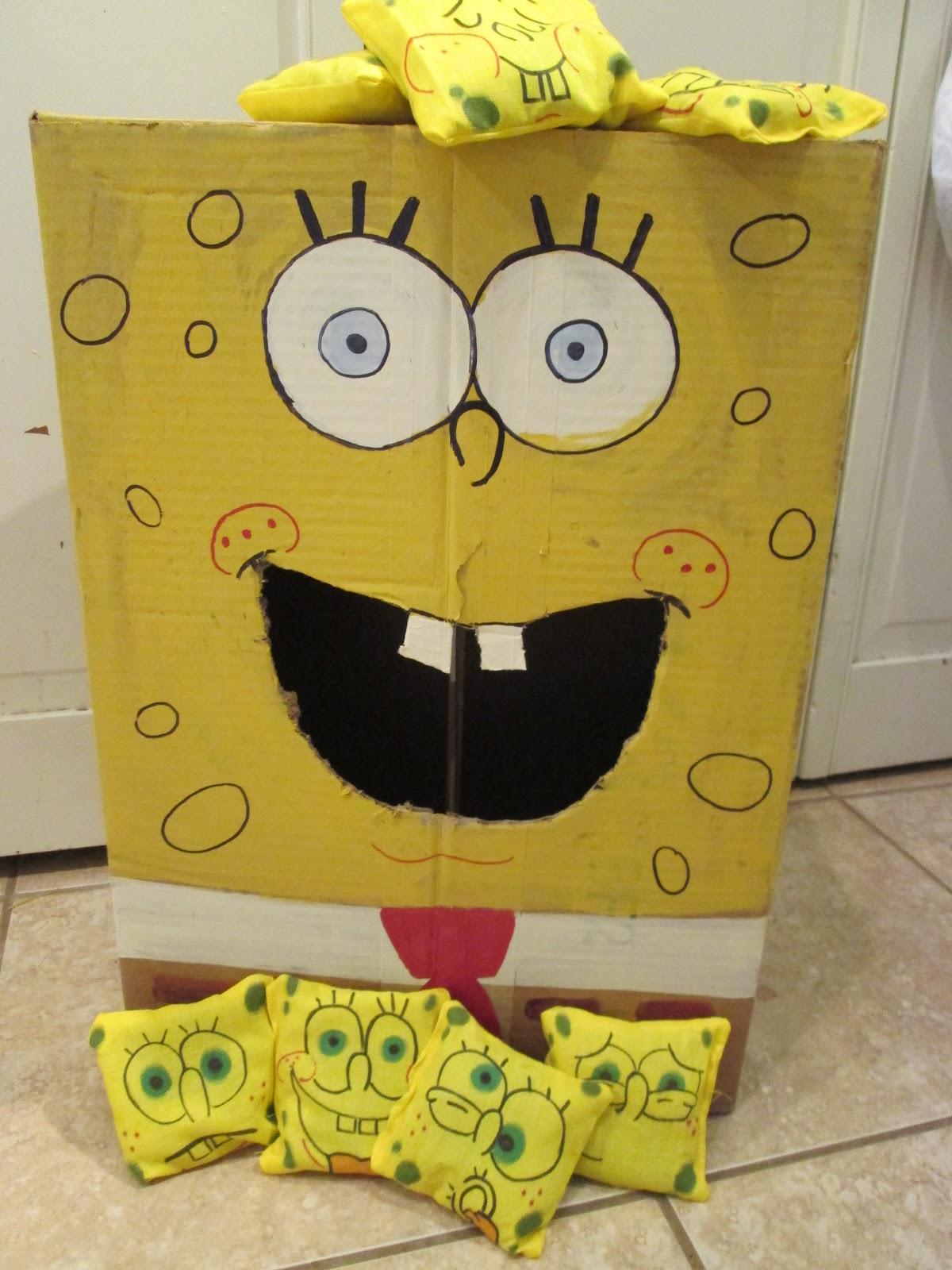 Walk In The Sunshine Spongebob Squarepants Bean Bag Toss Game