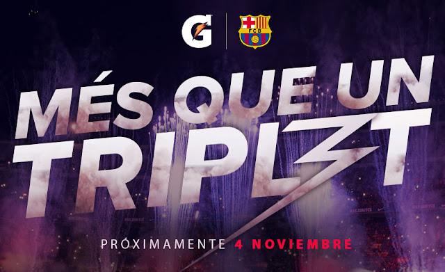 Gatorade festeja el triplete del FC Barcelona con un documental