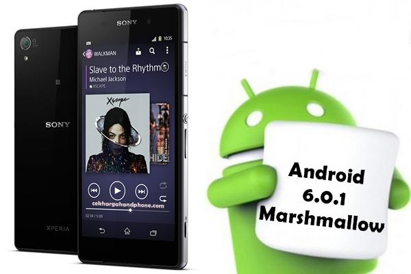 Cara Android 6.0.1 Marshmallow Untuk Sony Xperia Z2