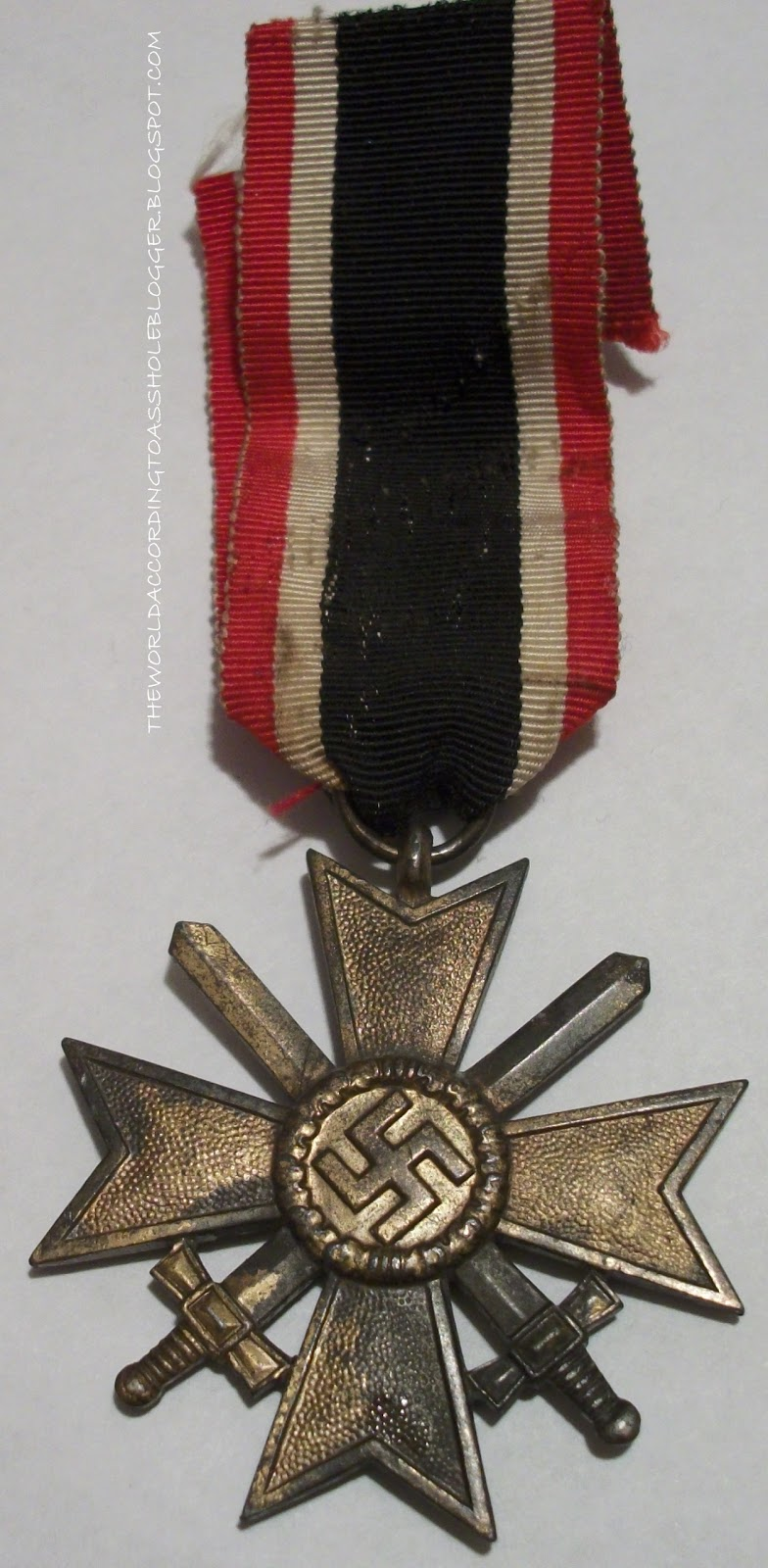 WWII German War Merit Cross with Swords for Combatants
