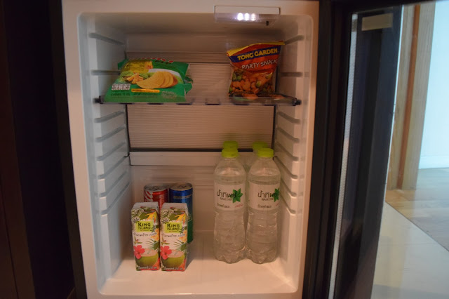 Maduzi hotel bangkok mini fridge