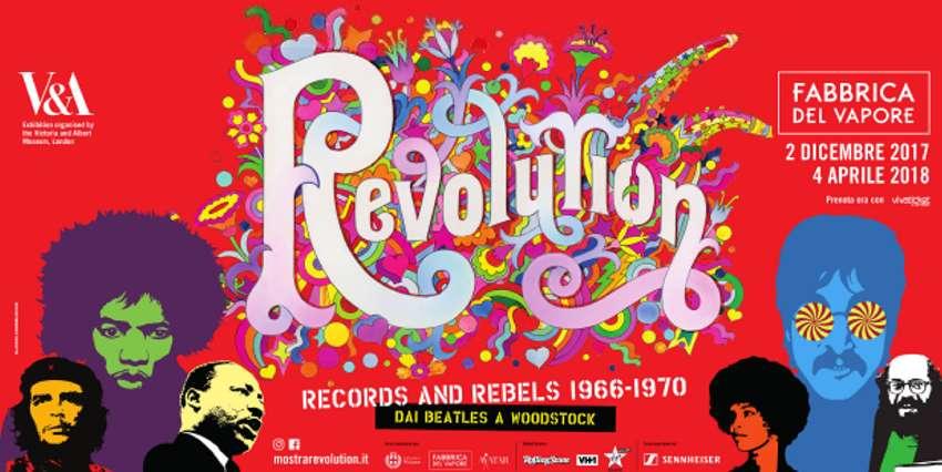 Revolution. Musica e ribelli 1966-1970, a Milano fino al 4 aprile