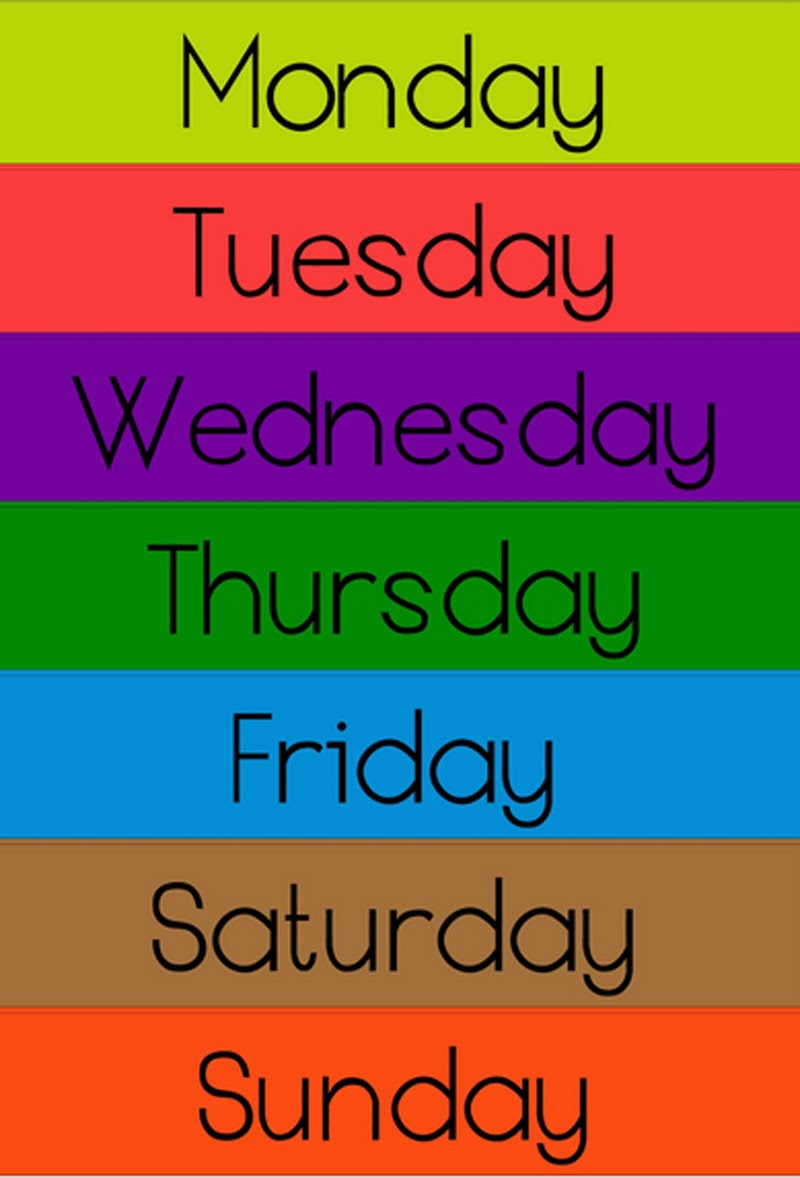 Why are the days of the week so called