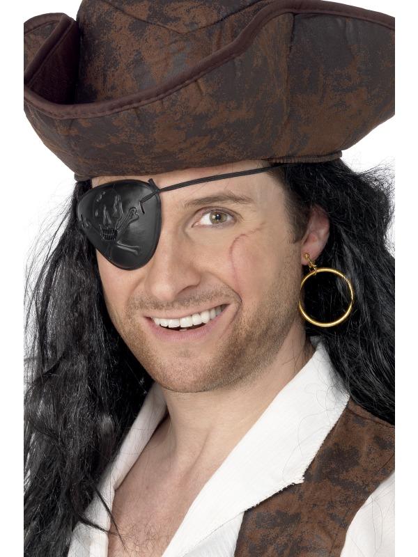 As imagens do Capitão Gancho e de Jack Sparrow têm em comum o chapéu, a  espada e os brincos. Mas, por que os piratas são descritos assim  5a41395b76