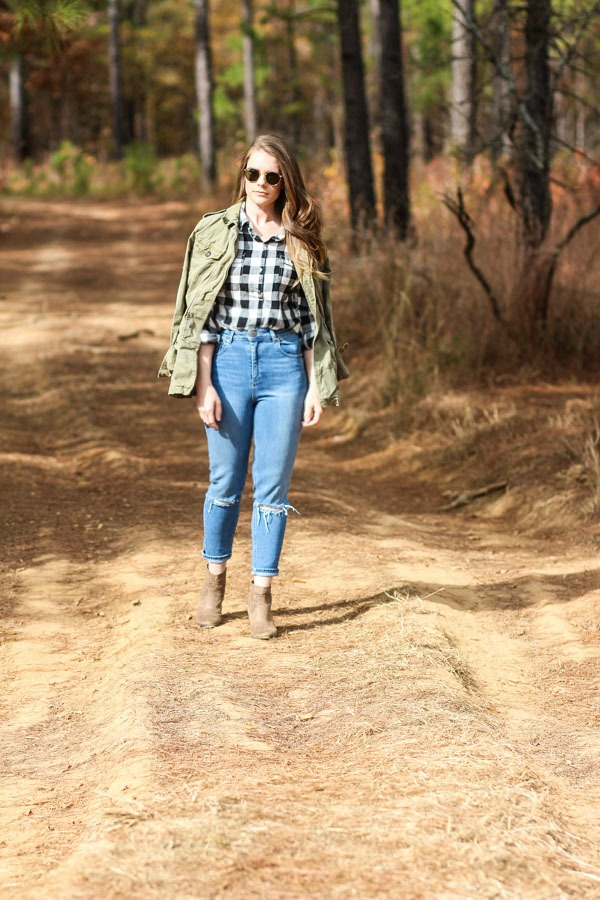 Fall Outfits- Mom Jeans