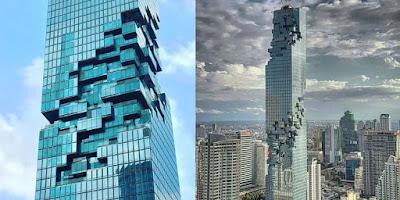 Gedung Pencakar langit:Mahanakhon, gedung tertinggi di Thailand.