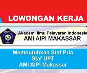 Lowongan Kerja Staf UPT AMI AIPI Makassar