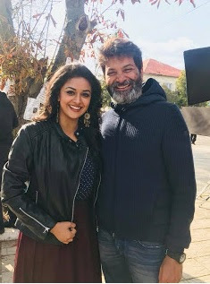 Wishing the coolest and energetic director TrivikramSrinivas garu a Happy birthday and a great year ahead PSPK25