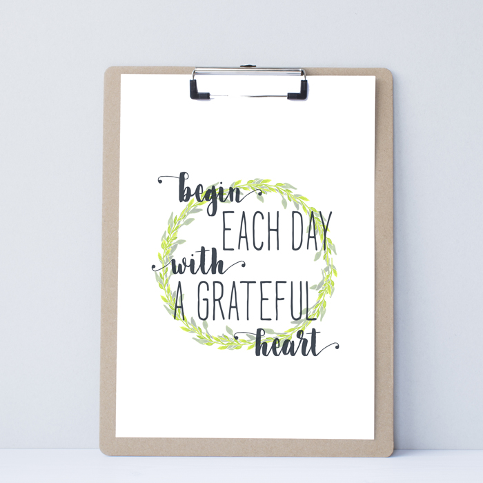 Watercolor Inspirational Printables