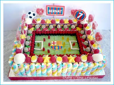 tarta chuches Barcelona