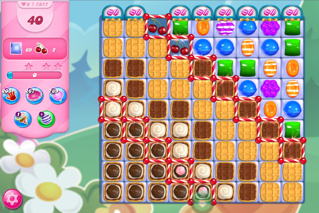 Candy Crush Saga level 7377