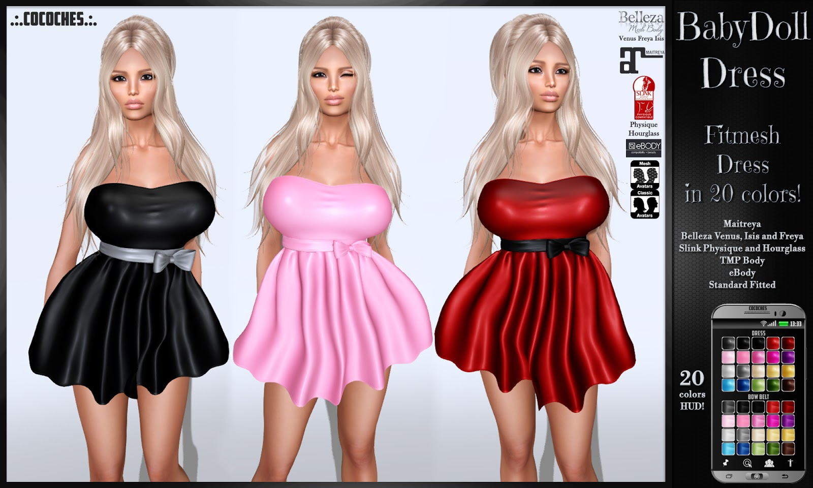 Venus Babydoll Dress