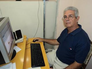 Ramón Ortiz Reyes,  director de programas del telecentro Solvisión