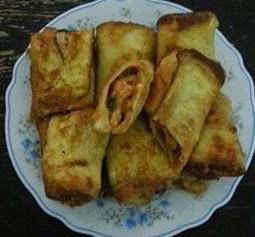 Roti goreng sardin