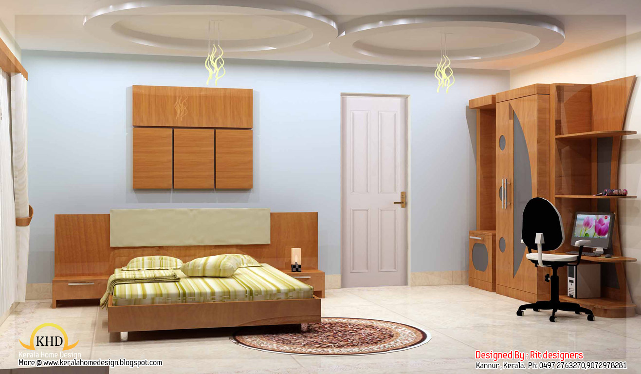 Beautiful 3d interior designs home appliance for Kerala house interior painting photos