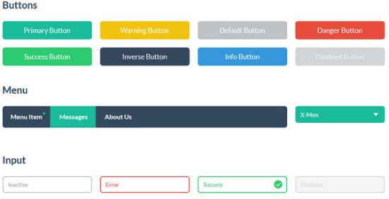 jQuery Flat Mobile UI Theme