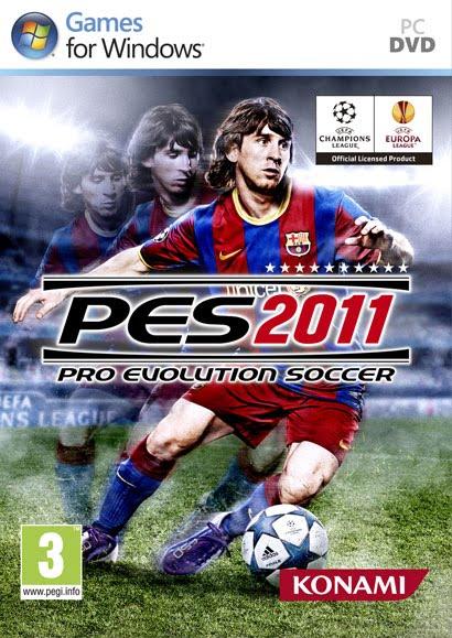 Pes 2011 Pc Cover Featuring Lionel Messi, Pantip Download