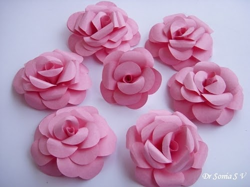 rose craft ideas cards crafts projects paper tutorial and 2855