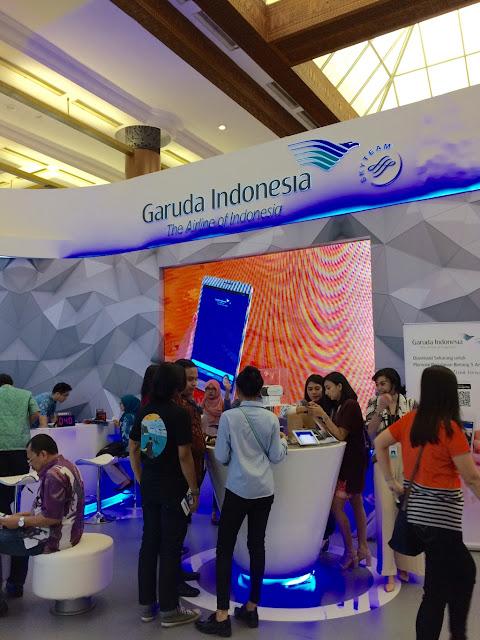 booth garuda indonesia di gatf