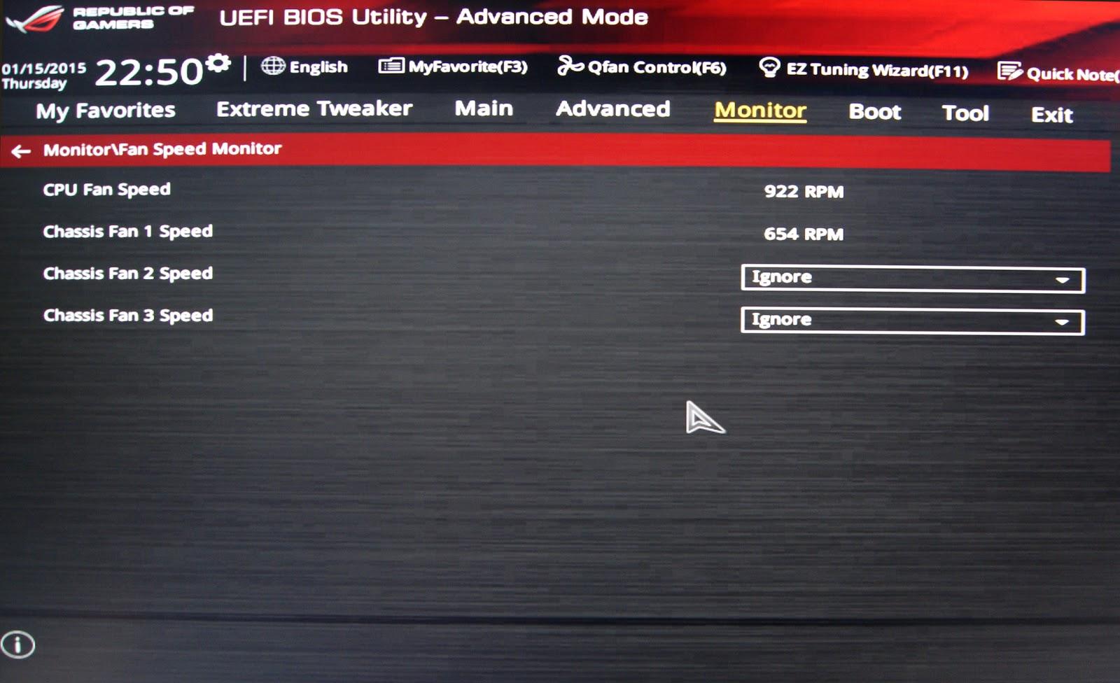 Configuración de los ventiladores para PC silencioso