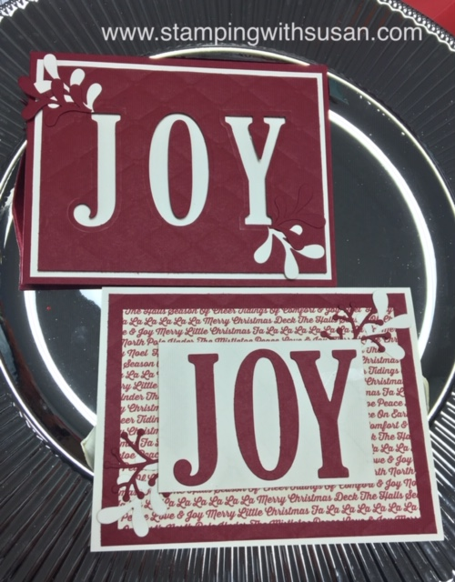 Stampin' Up!, Festive Farmhouse, Large Letter Framelits, www.stampingwithsusan.com