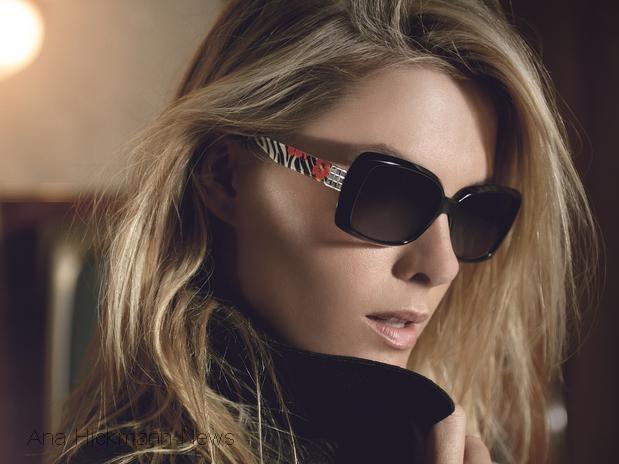 Ana Hickmann estrela a campanha de outono-inverno 2013 da própria marca de  óculos, a Ana Hickmann Eyewear. Nas fotos, a modelo e apresentadora aparece  com ... b284149cda