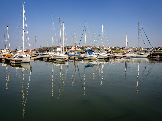 Photo of another view of boats at Maryport Marina