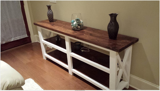 Download Rustic Console Table Picture