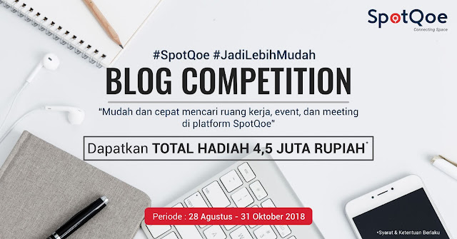 Kontes Blog SpotQoe Berhadiah