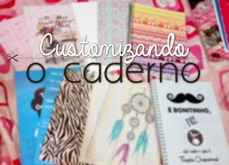 421e737caa Buteco para Garotas   Como customizar um caderno + imagens para capas.