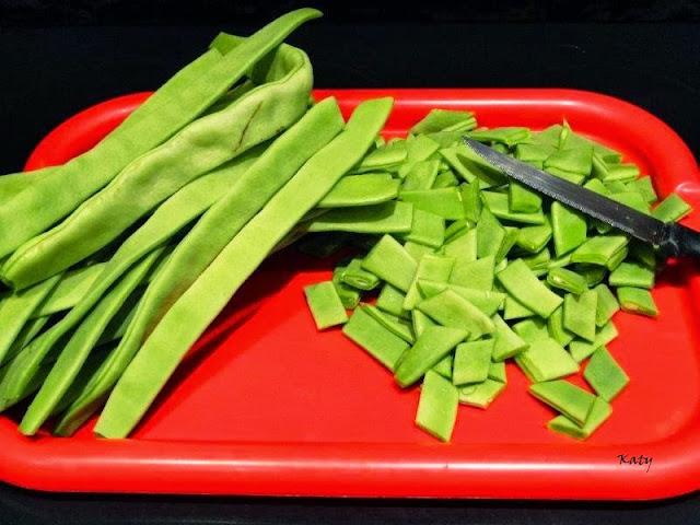 Para hincar el diente k m m k potaje de jud as verdes - Potaje de garbanzos y judias ...