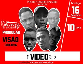 Projecto Mercenário apresenta o primeiro video da musica kuduro nunca morre